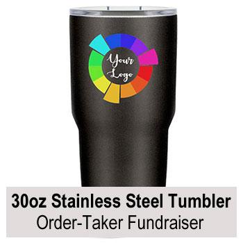 30oz Custom Engraved Tumblers Order-Taker Fundraiser