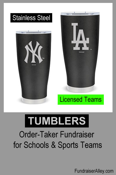 24oz Licensed Teams Tumblers for Fundraising