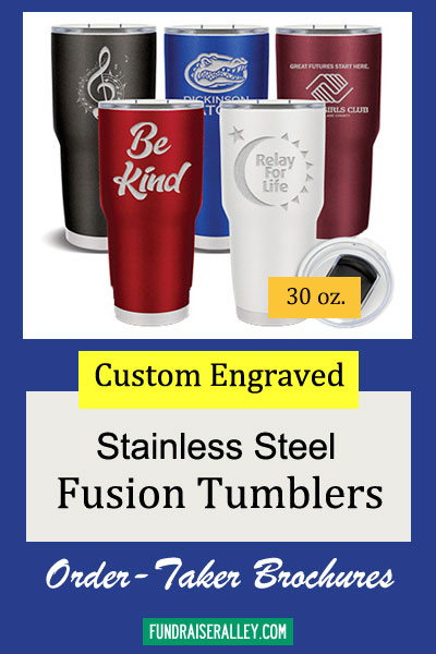 30oz Fusion Tumbler Order-Taker Brochures