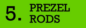 5 - Pretzel Rods Fundraiser