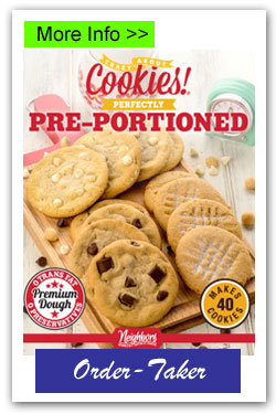 Pre-portioned Cookie Dough Fundraising Brochures