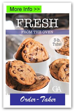 Fresh from the Oven Cookie Dough Fundraising Brochures