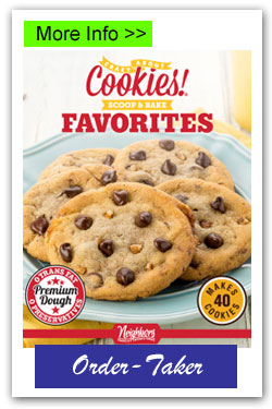 Scoop and Bake Cookie Dough Fundraising Brochures