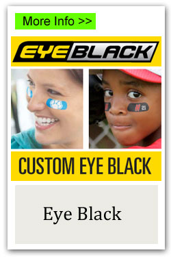 Custom Eye Black Fundraiser