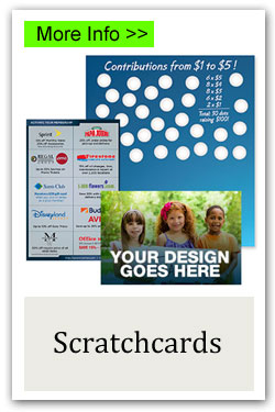 Custom Scratchcards Fundraiser