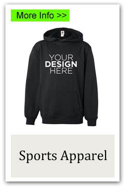 Custom Sports Apparel Fundraiser