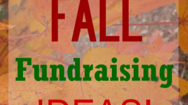 10 Fall Fundraising Ideas
