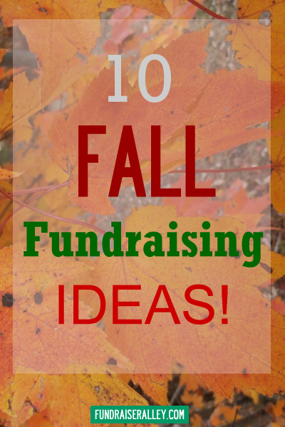 10 fall fundraising ideas for schools fundraiser alley