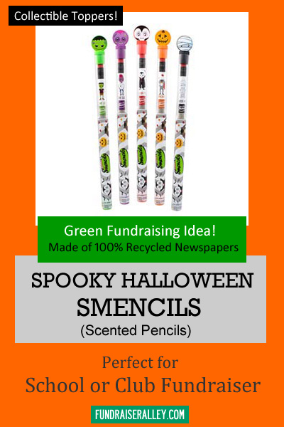 spooky halloween smencils for fundraising
