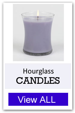 Hourglass Candles for Fundraising