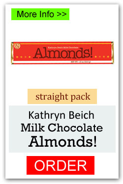 Milk Chocolate Almonds Candy Bar Fundraiser
