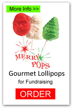 Christmas Lollipops for Fundraising