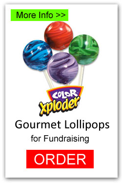 Lollipops for Fundraising - Color Exploder