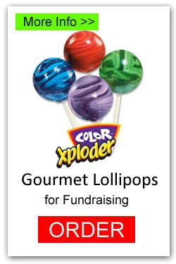 Color Exploder Lollipops - More Info/Order Online