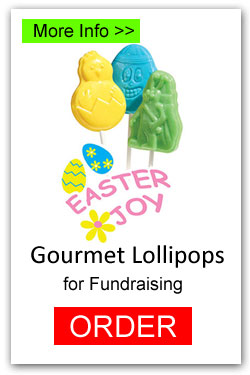 Easter Lollipops for Fundraising