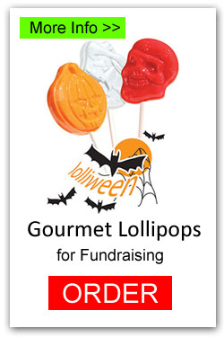 Halloween Lollipops for Fundraising