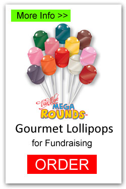 Lollipops for Fundraising - Mega Rounds
