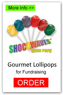 Lollipops for Fundraising - Shockwaves