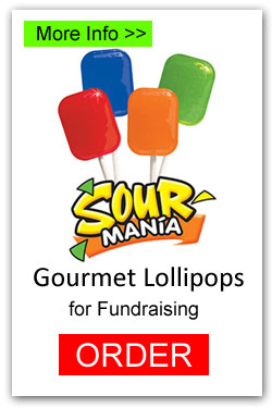 Lollipops for Fundraising - Sour Mania