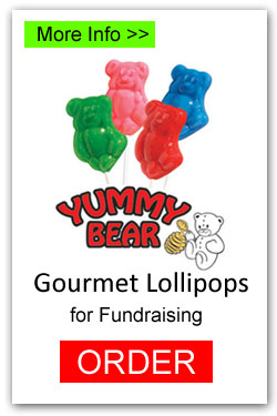 Lollipops for Fundraising - Yummy Bears