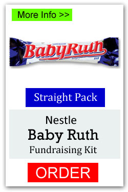Baby Ruth Candy Bar Fundraiser
