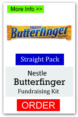 Butterfinger Candy Bar Fundraiser