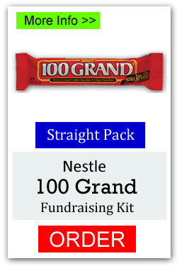 100 Grand Candy Bar Fundraiser