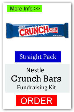 Nestles Crunch Candy Bar Fundraiser