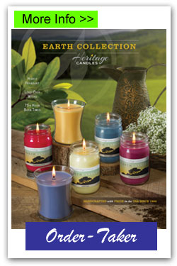 Earth Candles Order-Taker Fundraiser