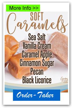 Soft Caramels Order-Taker Fundraiser