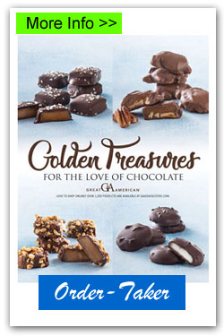 Golden Treasures Candy Order-Taker Fundraiser