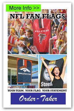 NFL Flags Order-Taker Fundraiser