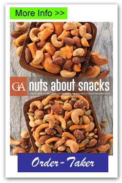 Nuts About Snacks Order-Taker Fundraiser