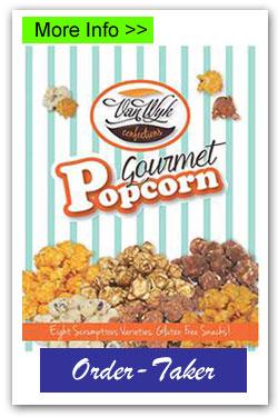 Popcorn Order-Taker Fundraiser