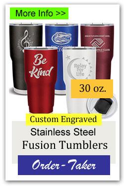 30oz Custom Tumblers Order-Taker Fundraiser