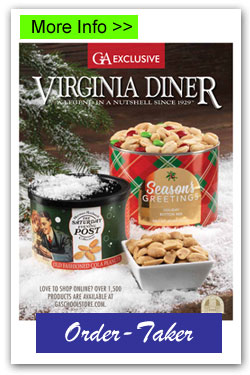 VA Diner Order-Taker Fundraising Brochures