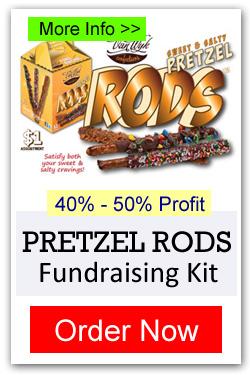 Pretzel Rods Fundraiser - Order Now