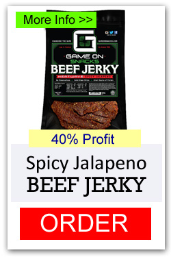 Game On Beef Jerky - Spicy Jalapeno