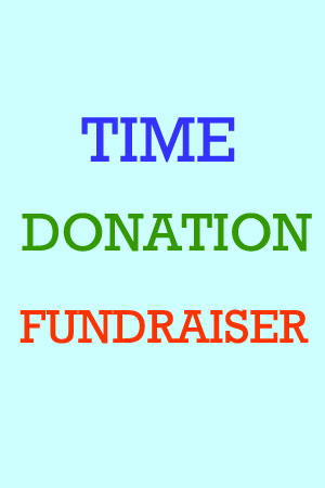 Time Donation Fundraisers