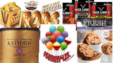 Top 5 Fundraising Products: Katydids, Cookie Dough, Lollipops, Beef Jerky, Pretzel Rods