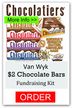 Van Wyk Chocolatiers Fundraising Kit