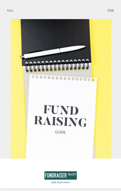 Fall 2018 - Free Fundraising Info Guide