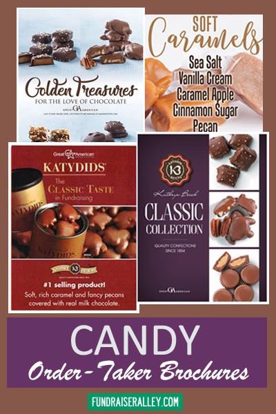Candy Order-Taker Brochures for Fundraising