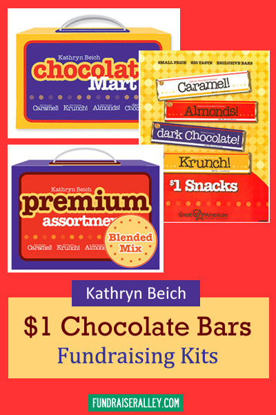 Kathryn Beich Candy Bar Fundraising Kits