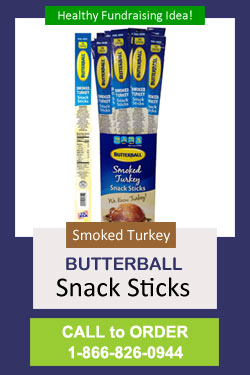 Smoked Turkey Sticks Fundraiser - Call to Order 866-826-0944
