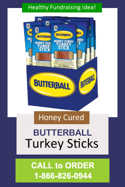 Honey Cured Turkey Sticks Fundraiser - Call to Order 866-826-0944