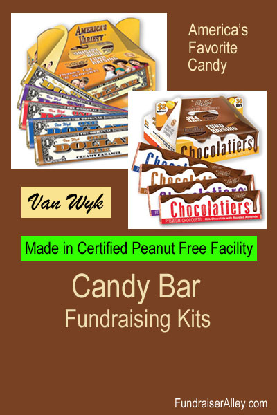 Van Wyk Candy Bar Fundraising Kits