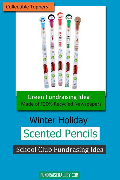Winter Holiday Scented Pencils for Fundraising