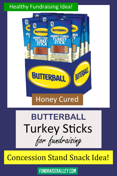 Butterball Honey Turkey Sticks Fundraising Kit - Call to Order 866-826-0944