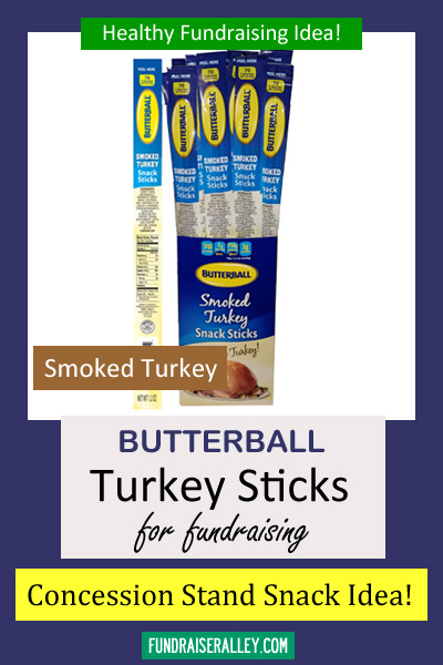 Smoked Turkey Snack Sticks for Fundraising - Call to Order 866-826-0944